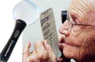 lupa de lectura para baja vision