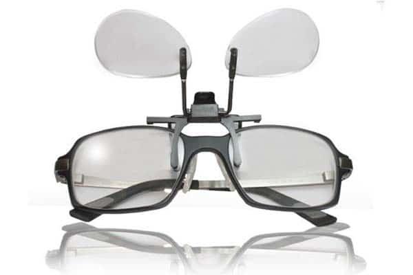 gafa lupa para pillar en lentes