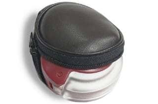 lupa de bolsillo plegable con estuche