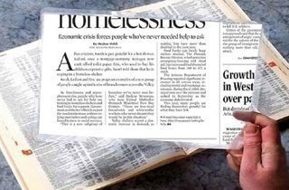 lupa igida para leer el periodico