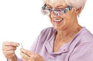lupa para manualidades o baja vision