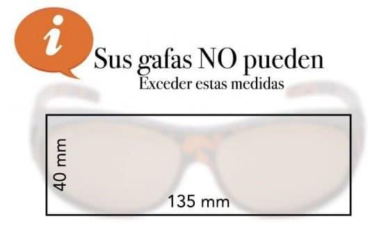 medidas de gafas