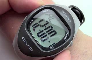 reloj parlante para ciegos de pulsera