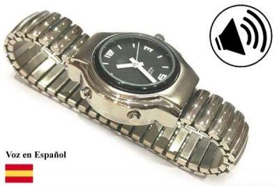 reloj que habla en español
