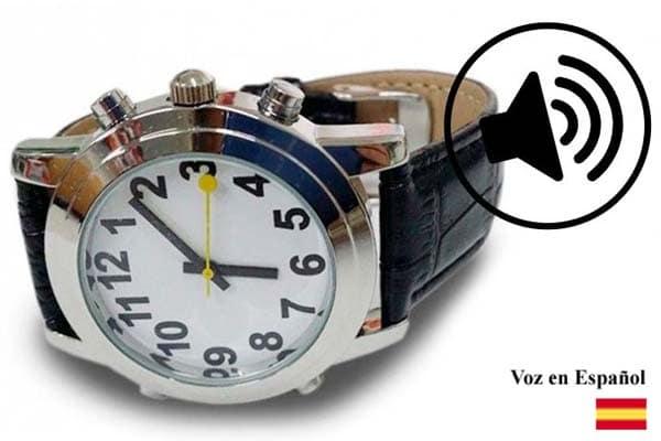 reloj de pulsera parlante