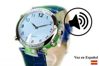 reloj en español vocalizado en español