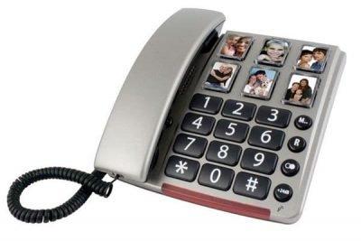 telefono con teclas grandes y fotos