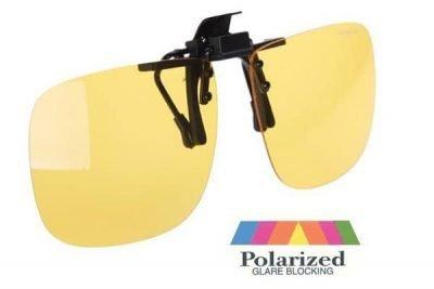 gafa filtro amarillo polarizada clip on