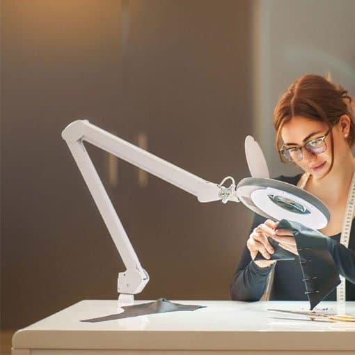 las lampara lupa lumeneo ideal para manualidades