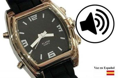 Reloj Vocalizado en Español para ciegos